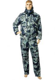 Куртка утеплённая Альфа-2 синяя КМФ