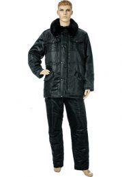 Куртка утеплённая Норд чёрная